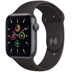 Apple Watch SE (GPS, 44mm) - Aluminum Case with Sport Band